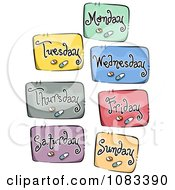 Clipart Daily Meds Icons Royalty Free Vector Illustration by BNP Design Studio