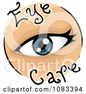 Clipart Eye Care Icon Royalty Free Vector Illustration by BNP Design Studio