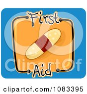 Clipart First Aid Bandage Icon Royalty Free Vector Illustration by BNP Design Studio