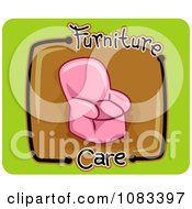Clipart Furniture Care Icon Royalty Free Vector Illustration