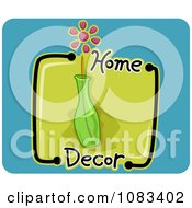 Clipart Home Decor Vase Icon Royalty Free Vector Illustration