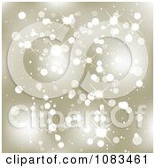 Clipart Gold Christmas Sparkle Background Royalty Free Illustration by vectorace
