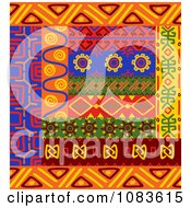Clipart Tribal Design Element Borders 3 Royalty Free Vector Illustration