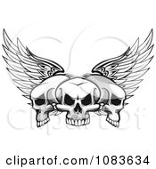 Three Winged Skulls