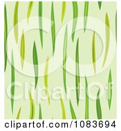Clipart Seamless Green Grass Blade Background Royalty Free Vector Illustration by Cherie Reve
