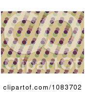 Clipart Seamless Retro Circle Diagonal Pattern Background Royalty Free Illustration
