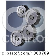 3d Accuracy Mechanical Gear Cog Wheels 1