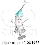 Clipart Syringe Character Royalty Free Vector Illustration