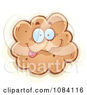 Clipart Goofy Fart Character Royalty Free Vector Illustration