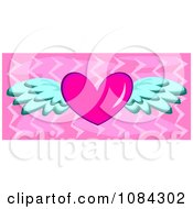 Pink Winged Heart