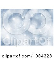 Clipart Blue Christmas Sparkles And Bokeh Lights Background Royalty Free Illustration