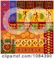 Clipart Tribal Design Element Borders 12 Royalty Free Vector Illustration