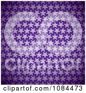 Clipart Purple Star Pattern Background Royalty Free Vector Illustration
