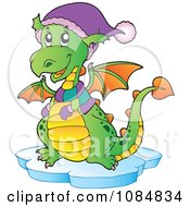 Dragon Wearing Winter Accessories