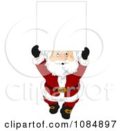 Santa Claus With A Christmas Sign 4