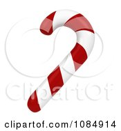 Clipart 3d Christmas Candy Cane Royalty Free CGI Illustration by BNP Design Studio