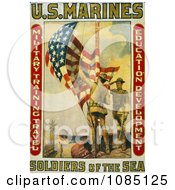 Marines Raising The American Flag