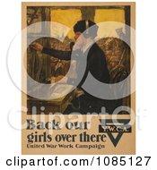 Female Telephone Operator Free Stock Illustration