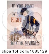 Female Marine Free Stock Illustration