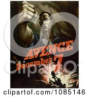 Avenge December 7 Attack On Pearl Harbor Free Stock Illustration