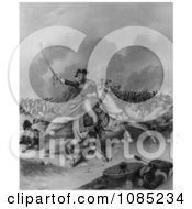 General Andrew Jackson Battle Of New Orleans Royalty Free Stock Illustration