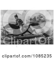 The Escape Of Sergeant Champe Royalty Free Stock Illustration