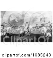 Surrender Of Lord Cornwallis At Yorktown Va Royalty Free Stock Illustration