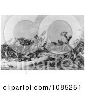 Washington At Princeton January 3rd 1777 Royalty Free Stock Illustration