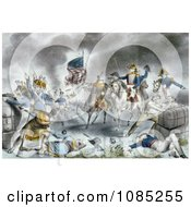 The Battle Of New Orleans Royalty Free Stock Illustration