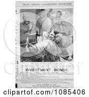 Ulysses S Grant Dreaming Free Historical Stock Illustration by JVPD