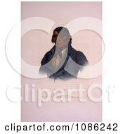 Sioux Indian Chief Waa Pa Shaw Free Historical Stock Illustration