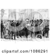 Indian Delegations At Washington Free Historical Stock Illustration