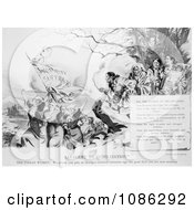 Savagery To Civilization Free Historical Stock Illustration