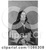 Sioux Indian Little Crow Free Historical Stock Illustration