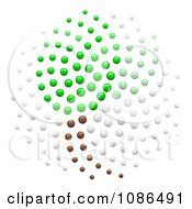 Clipart 3d Spiral Fibonacci Golden Ratio Mathematics Plant Leaf Dot Pattern Royalty Free Illustration by Leo Blanchette