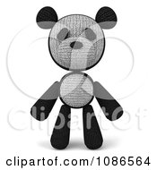 Clipart 3d Stuffed Panda Teddy Bear Royalty Free CGI Illustration by Julos
