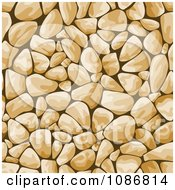 Clipart Tan Cobblestone Background Royalty Free Vector Illustration by Vector Tradition SM