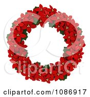 3d Poinsettia Wreath