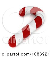 Clipart 3d Peppermint Candy Cane Royalty Free CGI Illustration by BNP Design Studio