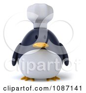 Clipart 3d Penguin Chef Royalty Free CGI Illustration