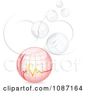 Clipart Cardiogram Chart Medical Bubbles Royalty Free Vector Illustration by Andrei Marincas