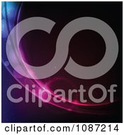 Clipart Swoosh Of Light In Deep Space Royalty Free Vector Illustration