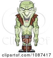 Clipart Tall Fantasy Goblins Royalty Free Vector Illustration by Cory Thoman