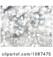 Clipart Silver Christmas Light Background 2 Royalty Free Illustration