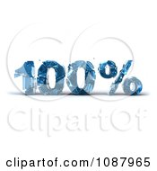 Clipart 3d Shattering Glass 100 Percent Discount Royalty Free CGI Illustration