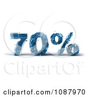 Clipart 3d Shattering Glass 70 Percent Discount Royalty Free CGI Illustration by Julos