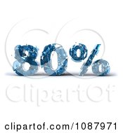 Clipart 3d Shattering Glass 80 Percent Discount Royalty Free CGI Illustration