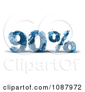 Clipart 3d Shattering Glass 90 Percent Discount Royalty Free CGI Illustration