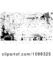 Clipart Black And White Rusty Grunge Overlay Royalty Free Vector Illustration by BestVector