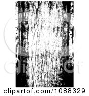 Clipart Black And White Wood Panel Grunge Overlay Royalty Free Vector Illustration by BestVector